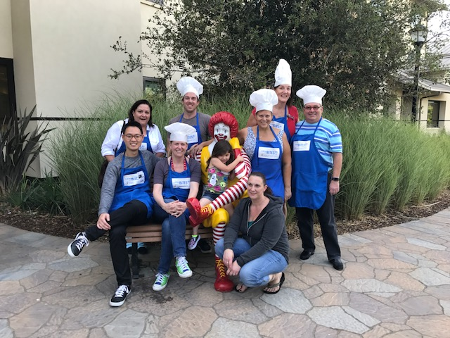 Turner Boyd attorneys and staff outside the Ronald McDonald House